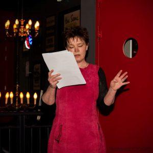 <b>Hilma bij Music & Spoken Word middag bij Xinix 19-3-17 <br> Foto Irene Damminga</b>