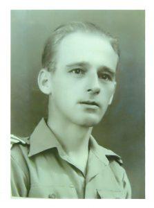 <b>Wachtmeester Klaas Bruinsma 1e regiment 7 December divisie</b>
